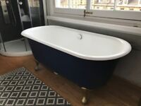 Blue Steel Bathtub