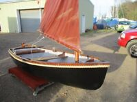 9ft4 grp traditional dinghy