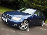 2003 Lexus Is200 Manual - Genuine 40,000 Miles - FULL HISTORY!