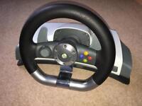 Xbox 360 Wireless Steering Wheel £30 ono