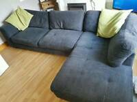 Grey L shape Corner sofa (GREAT CONDITION)
