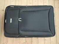 Soft 2 Wheeled suitcase - As New
