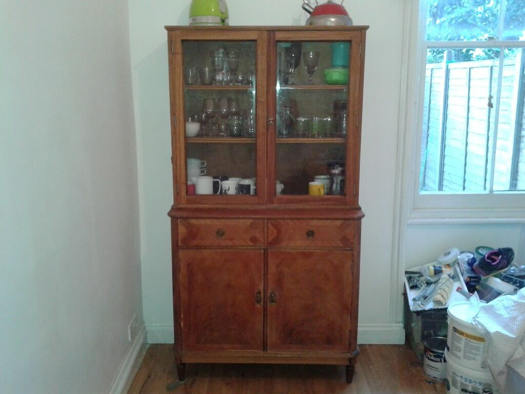 Kitchen Dresser Cabinet For Sale Teak In Oval London Gumtree