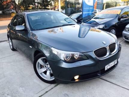 M Sports Luxury 2004 BMW 545i GPS SAT NAV LOGBOOKS TV SUNROOF A1