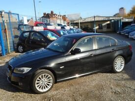BWW 3 series, 2.0 diesel sport, metallic black, 5 door