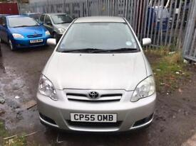 toyota corolla low milage full service history