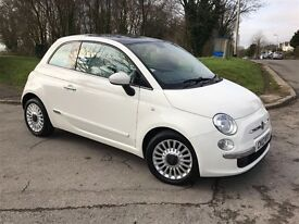 2012 Fiat 500 rare twinair turbo model- immaculate condition,one lady owner