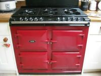 AGA S-Series Six-Four Dual Fuel Range Cooker 6 . 4