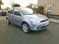 Ford fiesta 1.4 zetic claimt low mileage air con 1 year mot service history