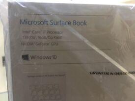 Microsoft Surface Book (1 TB, 16 GB RAM, Intel Core i7, NVIDIA GeForce graphics)