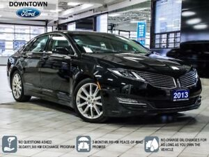 2013 Lincoln MKZ Moonroof, Navigation, Heated/cool Leather seats