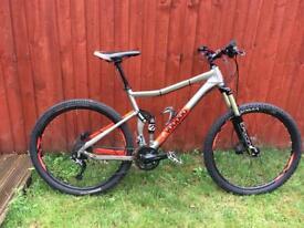 Voodoo Canzo Full Suspension Mountain Bike