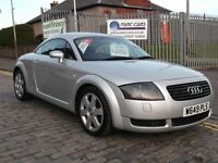 AUDI TT QUATTRO 1.8 20V TURBO 225HP,W REG 2000...81,000 MILES !!...F.S.H....3 FORMER KEEPERS ONLY..
