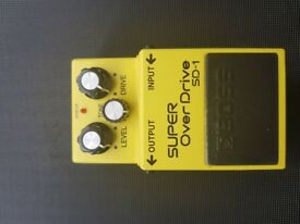 Second-Hand Boss SD-1 Super Overdrive Pedal