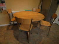 Pine table (chairs not included)