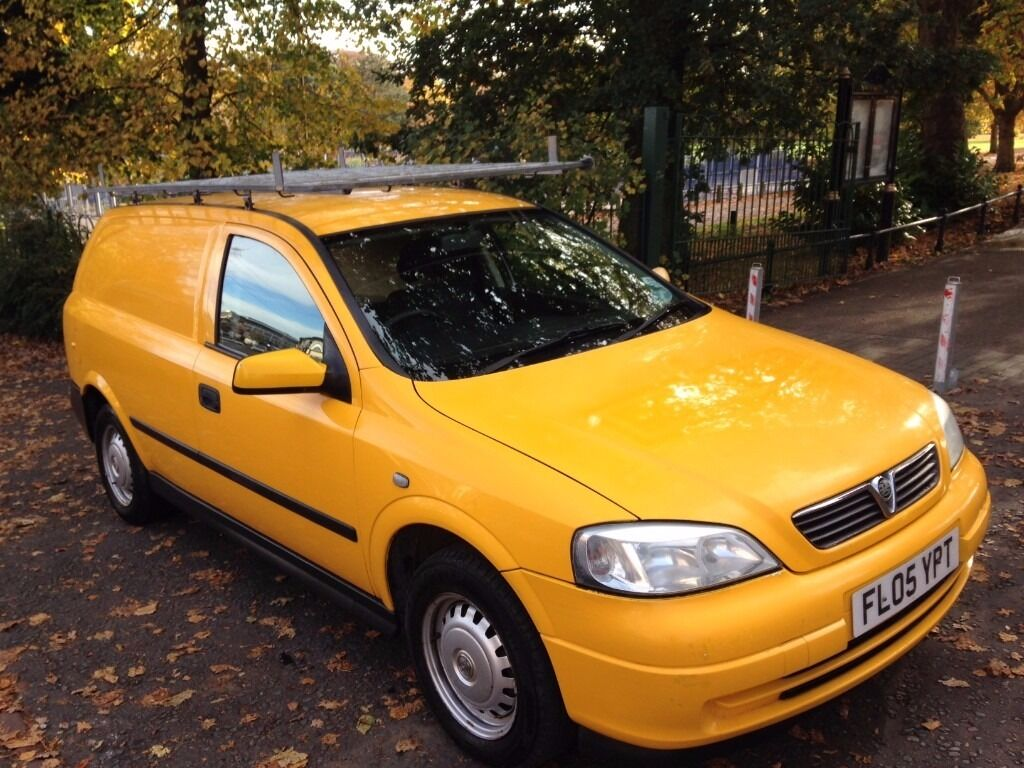 Vauxhall Astravan 1.7 CDTi 16v Envoy Panel Van 3dr£1,499 HIGH DEMAND YELLOW COLOR 2005 (05 reg)