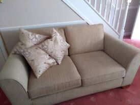 Sofa 2 seater and two matching armchairs. M&S. Great condition. Quick sale needed
