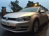 Golf mk7 tsi 1.4 120 bluemotion really good condition pet and smoke free you must see