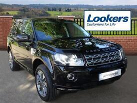 Land Rover Freelander SD4 METROPOLIS (black) 2014-09-27