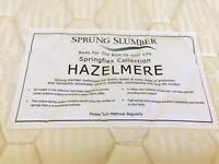 Quality sprung Double mattress in excellent condition