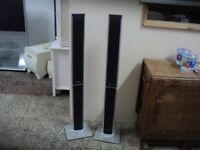 Pair of Panasonic tower speakers