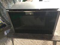 Neff Built In Integrated Microwave Oven with Grill C17GR00N0B - Like New