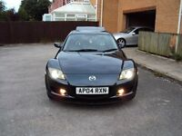 MAZDA RX-8 231 PS 6 SPEED FULLY LOADED EXTRAS RARE SPEC ONE OWNER LOW MILEAGE F.S.H+MOT+2KEYS £2995