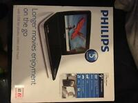 Philips Portable DVD Player Brand new