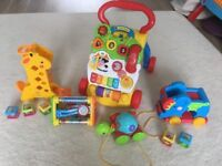 Baby walker and Toddler toys