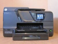 HP OfficeJet Pro 8600 WiFi Colour Printer Fax Scan Copy Web - New Inks - calls only