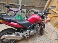HONDA CBF500 ABS - 2007. 12m MOT, Heated grips, Honda topbox,
