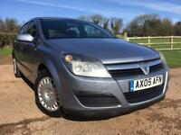 Vauxhall Astra Life 1.6 2005 Silver