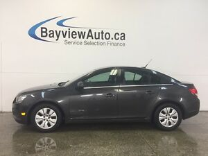 2014 Chevrolet CRUZE LT- TURBO! REM START! A/C! ON STAR!