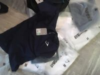 Brand new . Gymshark t shirts x8 and bag