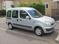Renault Kangoo wheelchair adapted vehicle 2005 1.6 automatic 5 Door Petrol