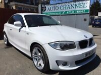 BMW 1 Series 2.0 118d Sport 2dr£7,995 p/x welcome 1 YEAR FREE WARRANTY. NEW MOT