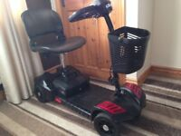 mobility scooter comes apart to put in a car good condition genuine reason for sale bargain £120