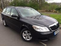 2010 New Shape Skoda Octavia Greenline 1.6 cr Tdi estate # £30 tax a year !#70 mpg # chp ins#cruise