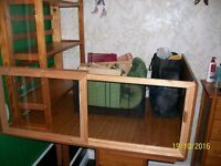 Small animal enclosure, cage and accessories