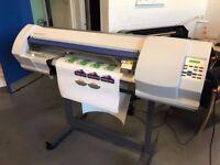 Roland SP-300V, large format, eco-solvent printer