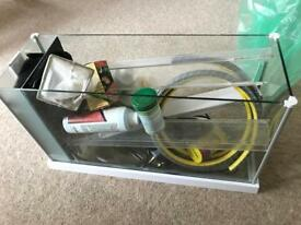 Fluval Spec 19 litre aquarium + starter kit