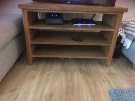 Solid oak TV cabinet for sale