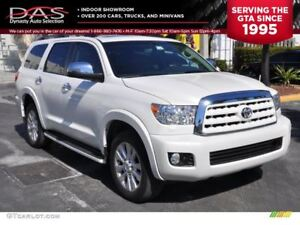 2011 Toyota Sequoia PLATINUM/LEATHER/SUNROOF/NAVIGATION/TV-DVD