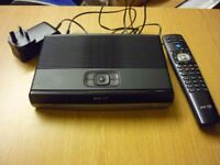 BT Youview Humax DTR-T2100 500 GB Freeview box. HD TV Recorder