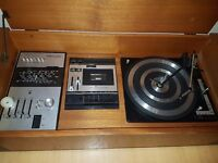 Vintage Music System for Sale. Vinyl, Cassette and Radio (Vinyl is broken)