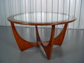 Retro G Plan Coffee Table Vintage Mid Century Furniture