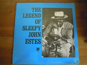 Sleepy John Estes - THE LEGEND OF (Lp) Reissue Press USA SEALED - Ivrea, Italia - Sleepy John Estes - THE LEGEND OF (Lp) Reissue Press USA SEALED - Ivrea, Italia