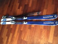 Skis and poles £25