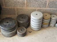Weights and barbell for sell