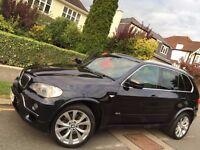BMW X5 xDrive30d M Sport 2009 AUTO *DIESEL**PANORAMIC ROOF *FULL SERVIC*BIG SAT NAV*REV-CAM~SENSORS!